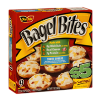 Bagel Bites Three Cheese 9CT 7oz Box product image