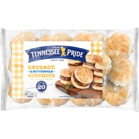 Tennessee Pride Sausage & Buttermilk Biscuits 26.08 Oz. 20 Count product image