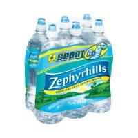 Zephyrhills Brand 100% Natural Spring Water - 6pk/23.7 fl oz Sport Cap Bottles product image