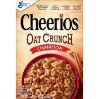 Cheerios Cinnamon Oat Crunch Breakfast Cereal - 15.2oz product image