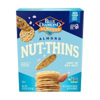 Blue Diamond Nut-Thins Gluten-Free Hint of Sea Salt Cracker Crisps, 4.25 Oz. product image