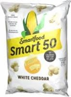 Smartfood SMART50 White Cheddar Popcorn, 6 oz Bag product image
