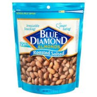 Blue Diamond Almonds Roasted Salted - 12oz product image