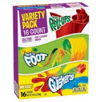 Fruit Flavored Variety Snacks - 16ct product image