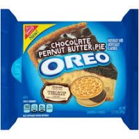 Oreo Chocolate Peanut Butter Pie Sandwich Cookies - 12.2oz product image