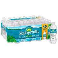 Zephyrhills Brand 100% Natural Spring Water - 40pk /16.9 fl oz Bottles product image