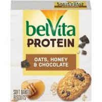 belVita Protein Oats Honey and Chocolate Breakfast Bars - 4ct product image