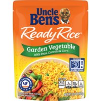 UNCLE BEN'S Ready Rice: Garden Vegetable, 8.8oz product image