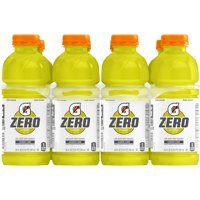 (8 Count) Gatorade G Zero Thirst Quencher, Lemon Lime, 20 fl oz product image