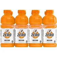 (8 Count) Gatorade G Zero Thirst Quencher, Orange, 20 fl oz product image