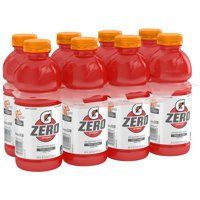 (8 Count) Gatorade G Zero Thirst Quencher, Fruit Punch, 20 fl oz product image