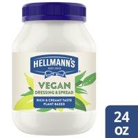 Hellmann's Vegan Dressing and Spread Vegan Mayo 24 oz product image