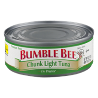 Bumble Bee Chunk Light Tuna in Water 5oz Can product image