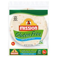 Mission Gluten Free Soft Taco Tortillas, 6 Count product image