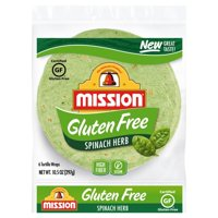 MISSION SPINACH HERB GLUTEN FREE 6CT product image