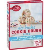 Betty Crocker Birthday Cake Cookie Dough Bites, 12.2 oz product image