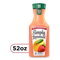 Simply Lemonade with Strawberry, All Natural Non-GMO, 52 fl oz product image
