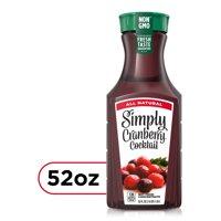 Simply Cranberry Cocktail Fruit Juice, 52 fl oz product image