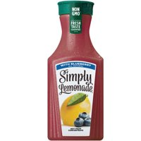 Simply Lemonade with Blueberry, All Natural Non-GMO, 52 fl oz product image