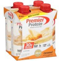 Premier Protein Shake, Caramel, 30g Protein, 11 Fl Oz, 4 Ct product image