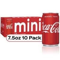 Coca-Cola Soda Soft Drink, 7.5 fl oz, 10 Pack product image