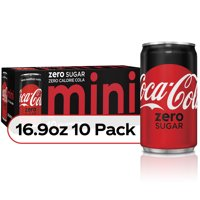 Coke Zero Sugar Diet Soda Soft Drink, 7.5 fl oz, 10 Pack product image