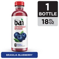 Bai Flavored Water, Brasilia Blueberry, Antioxidant Infused Drinks, 18 Fluid Ounce Bottle product image