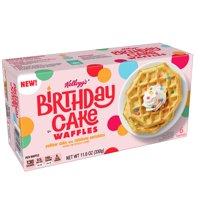 Kellogg's, Frozen Waffles, Birthday Cake, 11.6 Oz product image