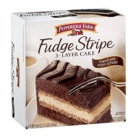 Pepperidge Farm 3 Layer Cake Chocolate Fudge Stripe 19.6oz Box product image