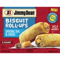 Jimmy Dean Sausage, Egg & Cheese Biscuit Roll-Ups, 12.8 oz (8 Count) (Frozen) product image