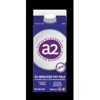 a2 Milk Company 2% Reduced Fat Milk, 1.74L product image