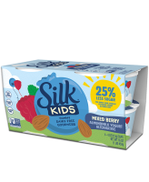 Silk Kids Dairy-Free Goodness Mixed Berry Yogurt 4pk product image
