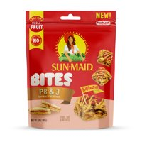 Sun-Maid Bites Peanut Butter & Jelly, Healthy Snacks, 3 oz product image