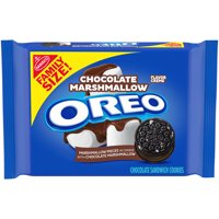 OREO Chocolate Marshmallow Sandwich Cookies, 1 Family Size Pack (17 oz.) product image