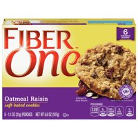 Fiber One Oatmeal Raisin Soft-Baked Cookies, 6 Count product image