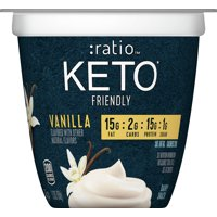 :ratio KETO Yogurt,Vanilla, 5.3ozcup product image
