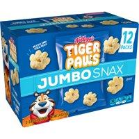 Kellogg's Tiger Paws Jumbo Snax, Cereal Snacks, Original, 12 Ct, 5.4 Oz product image