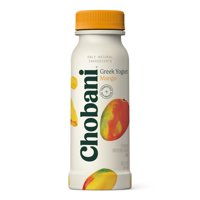 Chobani, Mango Low Fat Greek Yogurt Drink, 7 Fl. Oz. product image