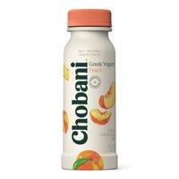 Chobani Greek Yogurt Drink, Peach 7oz product image