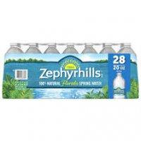 Zephyrhills 100% Natural Spring Water, 28 pk./20 oz. product image