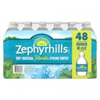 Zephyrhills 100% Natural Spring Water, 48 pk./8 oz. product image