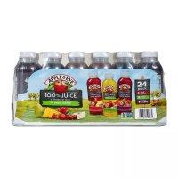 Apple & Eve 100% Fruit Juice Variety Pack, 24 pk./10 oz. Bottles product image