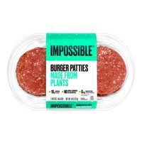 Impossible Burger Patties Made from Plants, 2 ct, 1/2 lb product image