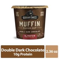 Kodiak Cakes Muffin Unleashed, Double Dark Chocolate Muffin, 2.36 OZ product image