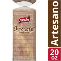 Sara Lee Artesano Original Flavor Bakery Bread, No Artificial Colors or Flavors, 1 Pound 4 Ounce Loaf product image