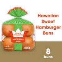 King's Hawaiian Sweet Hamburger Buns - 12.8oz/8ct product image