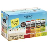 The Original Clubtails Cocktail in a Can: Cocktail Party Pack, 16 fl oz, 8 count product image