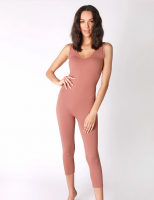 CATHERINE JUMPSUIT COGNAC *SIZES SMALL AND MEDIUM* PLEASE SPECIFY SIZE IN THE NOTES product image