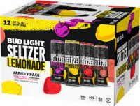 Bud Light Hard Seltzer & Lemonade Variety Pack - 12pk/12 fl oz Slim Cans *ID REQUIRED* product image