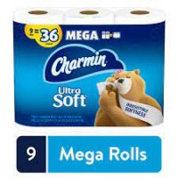 Charmin Ultra Soft Mega 9ct Toilet Paper product image